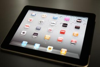 An iPad accesses cellular networks via CDMA technology.