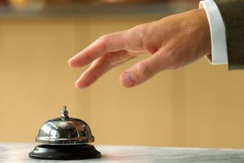 Hotel managers ensure that facilities and amenities meet the standards of guests.