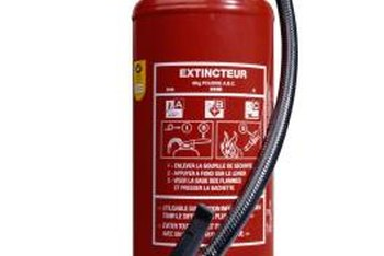 An extinguisher's size says less about its effectiveness than its rating does.