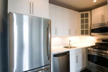 A refrigerator can anchor the design layout of your kitchen.