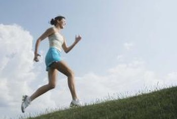 Hill sprints are optimal for developing speed.