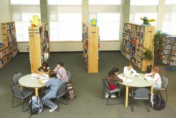 Team activities can make library exercises fun and engaging.