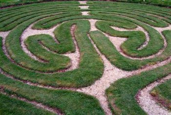 You can design your own garden maze if you have enough space in your yard.