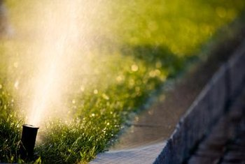 Installing a home irrigation system often requires running pipe under a sidewalk or driveway.