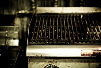 Clean your gas grill after every use to prevent stubborn built-up.