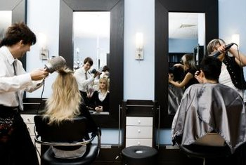Salon owners may want stylists' stations to look the same.