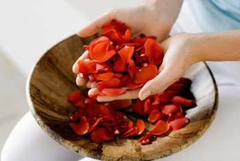 Turn fresh rose petals into potpourri.