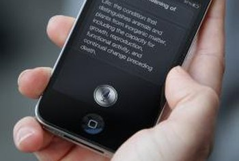 One of iPhone's native features is Siri, a voice-activated digital assistant.