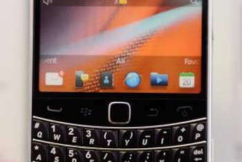 You can set a signature for any email account with your BlackBerry phone.