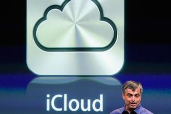 You can use iCloud to backup and restore data on iOS devices.