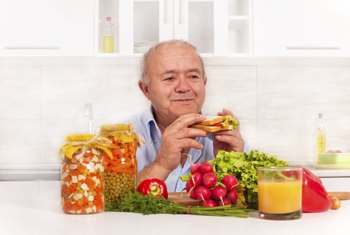 Seniors need to eat a nutrient-rich diet.