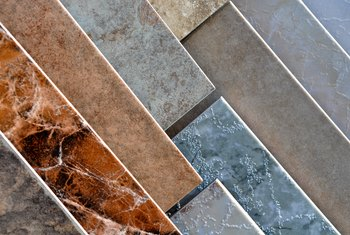 How to Coordinate Floor Tile Color & Countertops