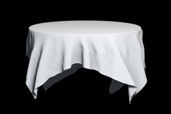 How to Remove Old Food and Grease Stains From Table Linens