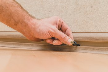 How to Install Vinyl Baseboard Molding