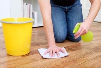 How to Disinfect a Wooden Floor