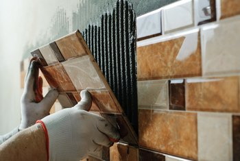 How to Cut Ceramic Tile That Is Already Installed