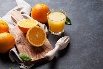 Orange Juice and Fiber