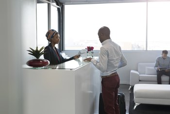 Etiquette of a Front Office Receptionist