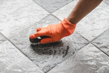 Oxygen Bleach for Tile Grout Cleaning