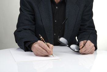 How To Write a Letter of Intent for an Employer