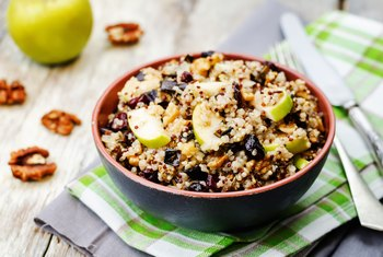 Do Apples or Rice Have More Fiber?