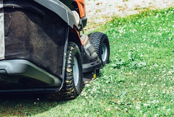 How to Test a Lawn Mower Battery With a Digital Multi-Meter