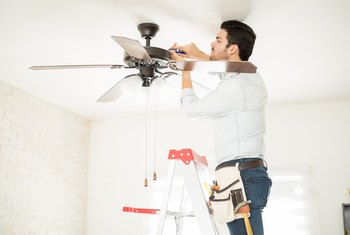 How to Tell If an Existing Outlet Box Will Support a Ceiling Fan