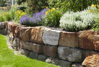 The Maximum Height of a Stacked Stone Retaining Wall