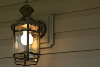 How to Install an Exterior Light Fixture on Siding