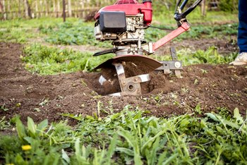 How to Rototill a Lawn