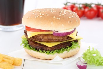 Healthiest Fast-Food Double Cheeseburger