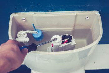 How to Adjust a Sticking Toilet Flapper