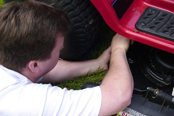 How to Adjust Tension on the PTO of a Troy-Bilt Pony