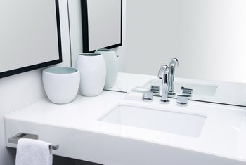 How Far Should a Mirror Be Above a Sink?