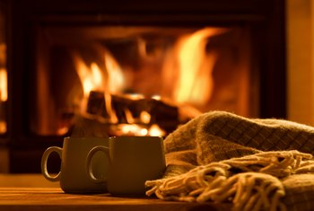 How to Increase Heat From a Wood-Burning Fireplace