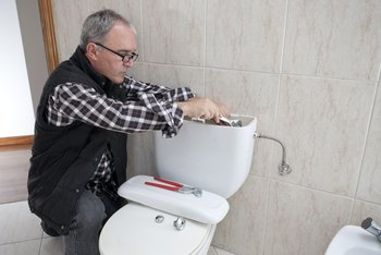 How to Repair a Toilet That is Not Filling Due to a Frozen Pipeline