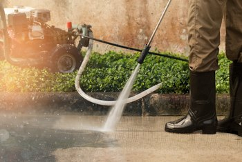 How to Clean Your Driveway Without a Power Washer