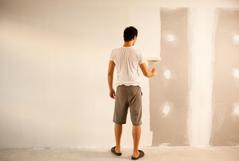 How to Correct Paint Imperfections in Drywall