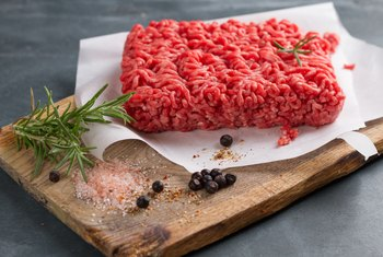 Nutritional Serving of Ground Beef