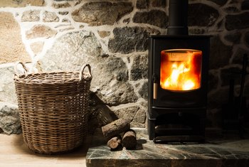 How to Move Heat From a Wood Stove