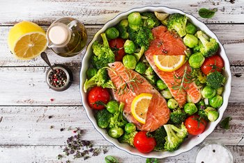 Nutrition of Pan-Roasted Salmon