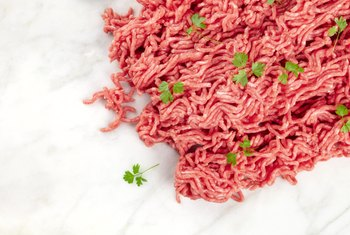 Protein & Fat Content in a Ground Beef Patty