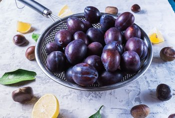 How Much Potassium in Plums?