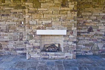 How to Clean a Stained Slate Hearth