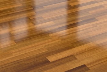 Sticky Film From Laminate Flooring