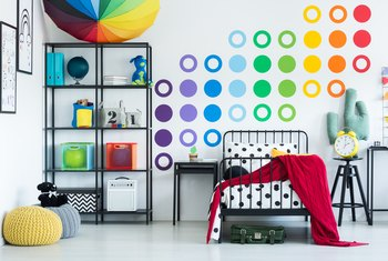 How To Take Off Adhesive Wall Stickers Home Guides Sf Gate