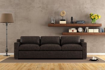 What Shade of Curtains Would Look Great With Chocolate Brown Suede Couches?