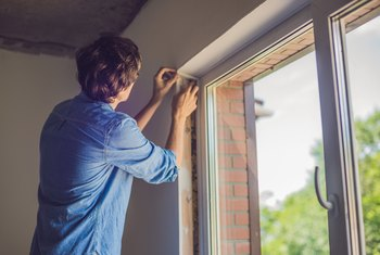 How to Install New Glass in an Aluminum Window Frame