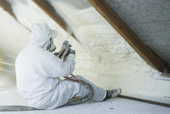 How to Remove Sprayed Wall Foam Insulation