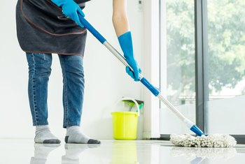 How to Make Floors Less Sticky After Mopping